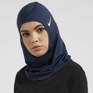 Nike Pro Dri-Fit Hijab -Navy - XS/S